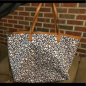 Stella & Dot Bicycle Ikat Tote